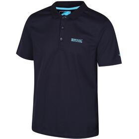 Regatta Maverik IV T-Shirt Men Navy/Surf Spray